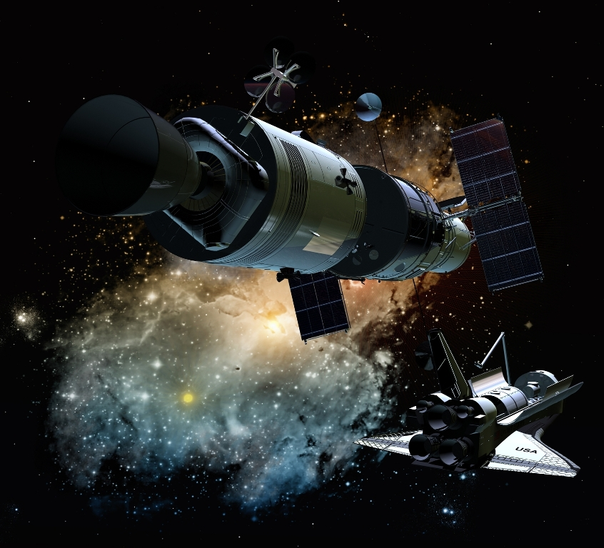Satellite retrieval in space